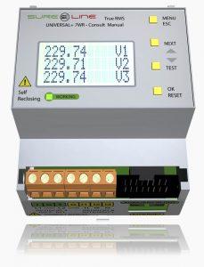 Sistemas de protección y analizador 7wr-m4-ref